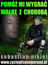 Sebastian Nikiel - wsparcie na leczenie i rehabilitację